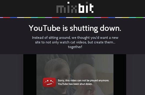 YouTube lanzan un nuevo portal de video MixBit