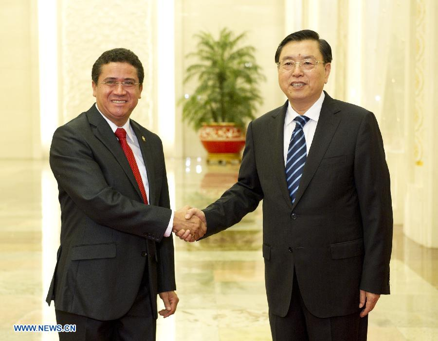 China y Costa Rica impulsarán cooperación legislativa