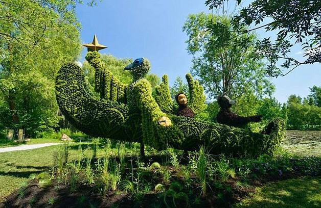 Esculturas vegetales incre bles en jard n bot nico de for Jardin botanico numero telefonico