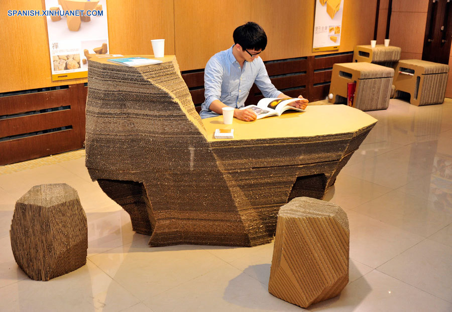 Mueble de cartón corrugado (5) - photo#20