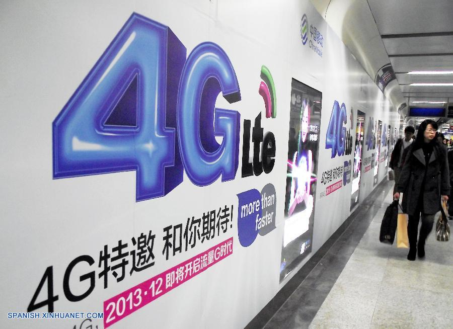 China emite licencias de 4G