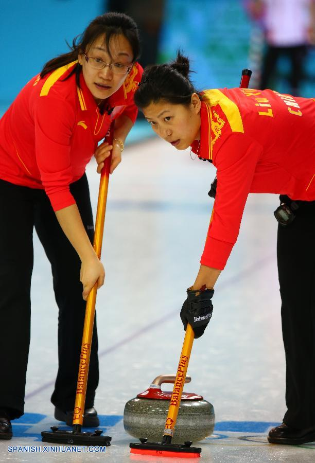 SOCHI 2014: China pierde ante Canadá 2-9 en curling femenil
