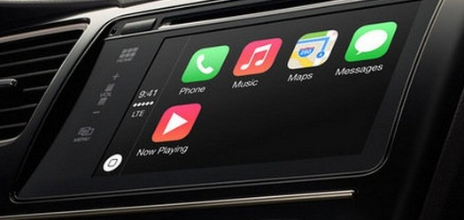 Apple lanza CarPlay para usar el iPhone en el coche