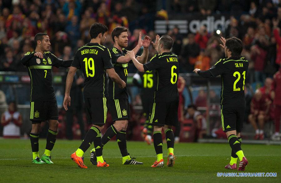 futbol espana italia: