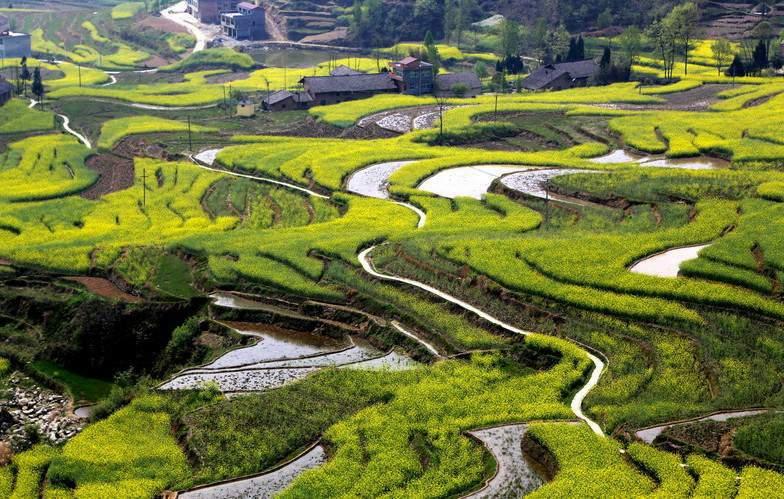 Las 10 Terrazas Más Hermosas De China 11